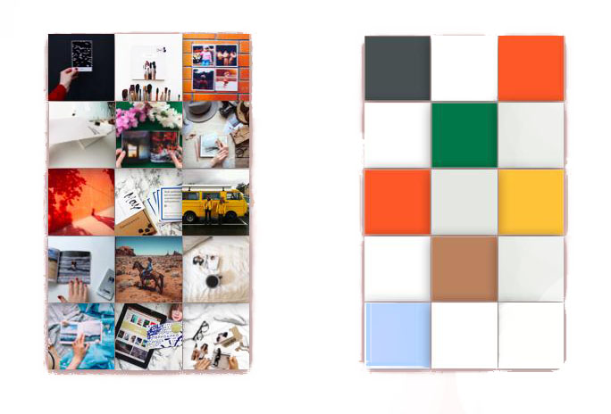 Цветовая схема постов
