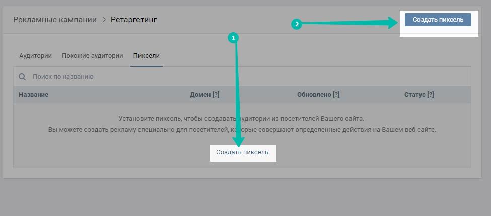 Ретаргетинг (ремаркетинг) в Вконтакте: руководство по эксплуатации.