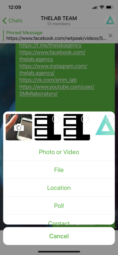 Как создать опрос в Telegram